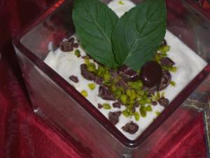 Schokobohnen Dessert
